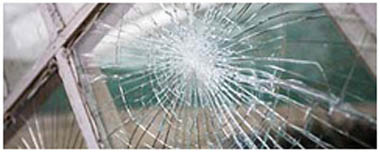 Burntwood Smashed Glass